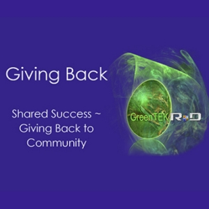 Giving Back Through Shared Success