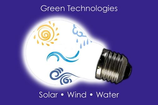 Green Technologies - Solar, Wind and Water