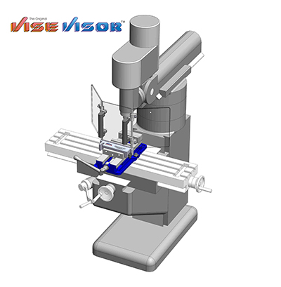 Vise Visor for Machine shop safety