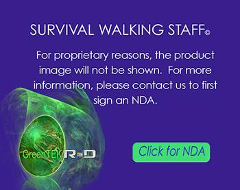 Survival Walking Staff